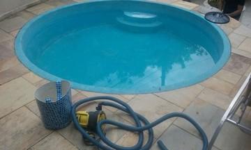 Aquecedor Elétrico para Piscina de Fibra Água Branca - Aquecedor de Piscina 15000 Watts