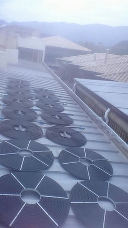 Aquecimento de Piscina com Placa Solar Mooca - Aquecimento Solar para Piscina de Fibra