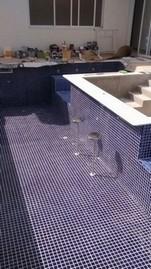 Construção de Piscina Azulejo Preço Sacomã - Construção de Piscina de Fibra Aquecida