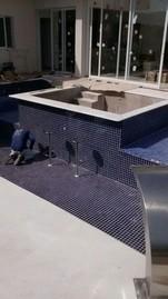 Construção de Piscinas Azulejo Vila Romana - Construção de Piscina