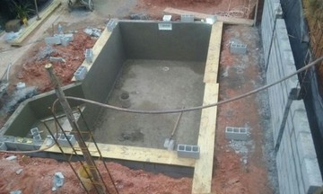 Empresa de Construção Piscina Azulejo Itaquera - Construção de Piscina de Fibra Aquecida