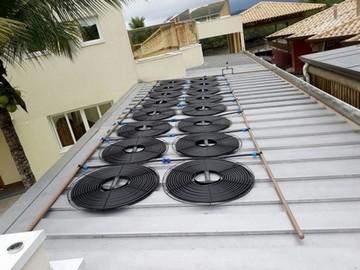 Sistema de Aquecimento Solar para Piscina Santa Cecília - Aquecimento com Placa Solar para Piscina de Fibra
