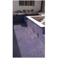 construção de piscina azulejo