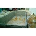construção de piscina de alvenaria
