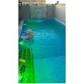 iluminação para piscina led