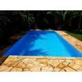 piscina aquecida de alvenaria