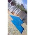 piscina aquecida e coberta