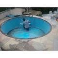 reforma de piscina de fibra Jaguaré