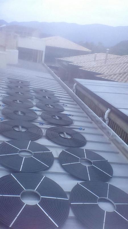 Aquecimento com Placa Solar para Piscina de Fibra Jardim América - Sistema de Aquecimento Solar para Piscina