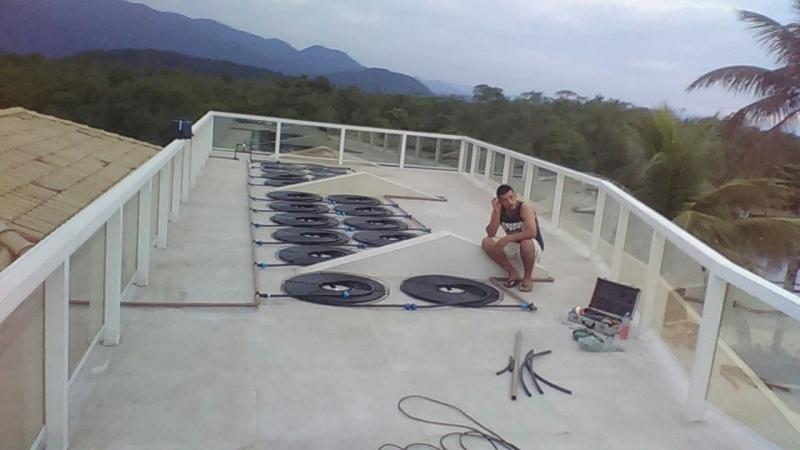 Aquecimento Solar para Piscina Ipiranga - Placa de Aquecimento Solar para Piscina