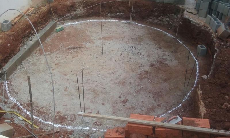 Construção de Piscina de Vinil Preço Aclimação - Construção de Piscina Fibra