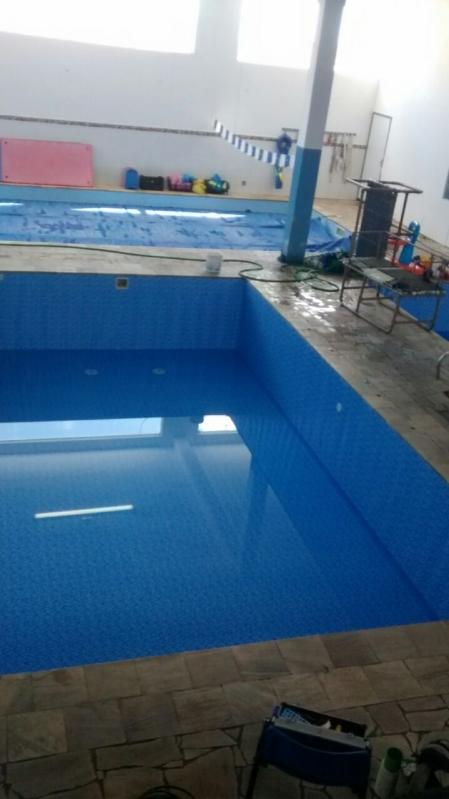 Construção de Piscinas para Academias Caieiras - Construção Piscina Azulejo