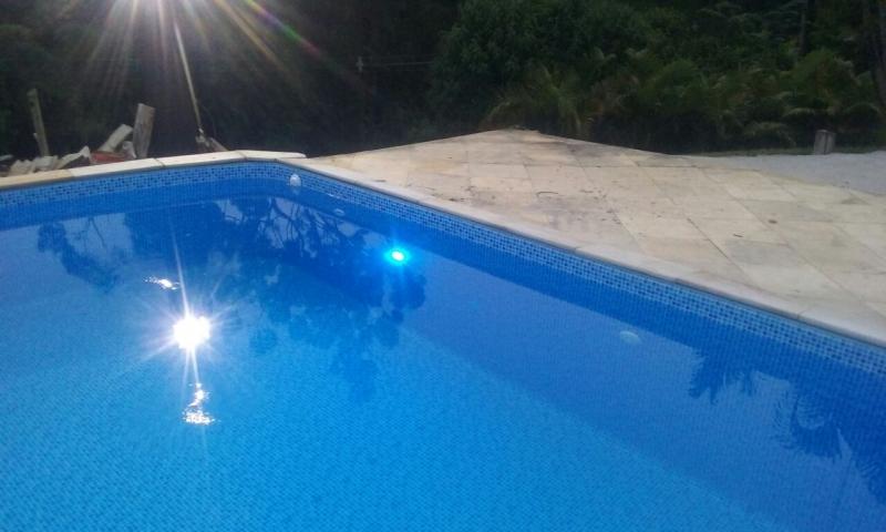 Iluminação em Led para Piscina Ponte Rasa - Iluminação para Piscina de Fibra