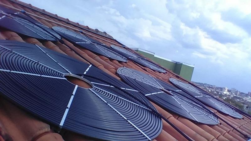 Onde Encontro Aquecimento de Piscina com Placa Solar Itapecerica da Serra - Aquecimento Solar de Piscina Vinil