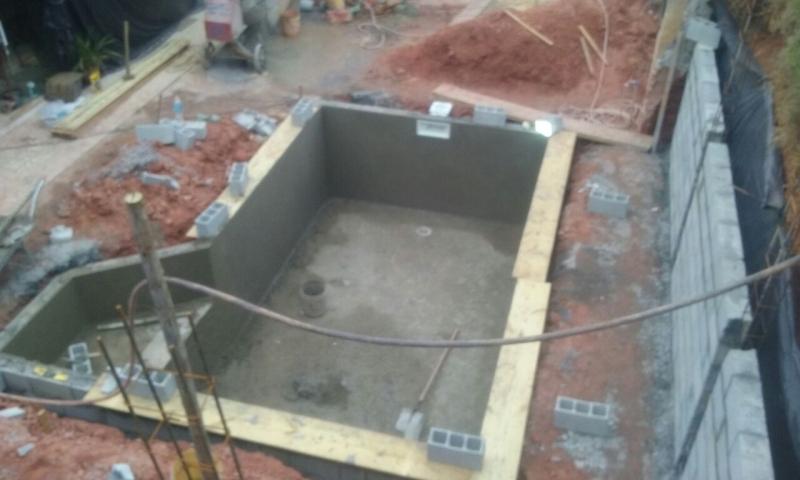 Onde Encontro Construção Piscina Revestida Vinil Vargem Grande Paulista - Construção de Piscina Fibra