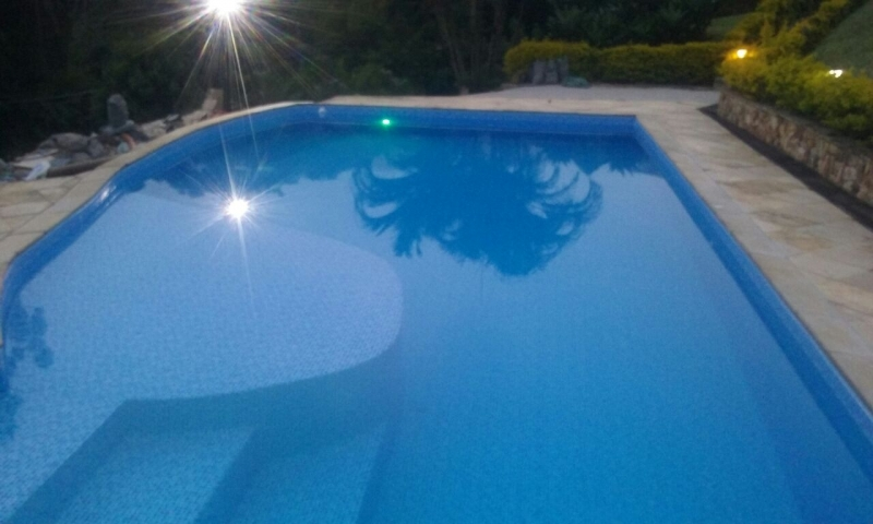 Onde Encontro Iluminação para Piscina de Fibra São José dos Campos - Iluminação de Led para Piscina