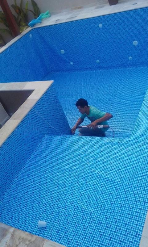 Onde Encontro Instalação de Vinil Piscina Vila Mariana - Instalação de Vinil Tramado 1.5mm para Piscina