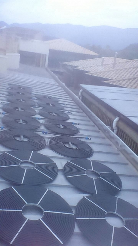 Piscinas Aquecidas com Energia Solar Praia Grande - Piscina Aquecida Vinil