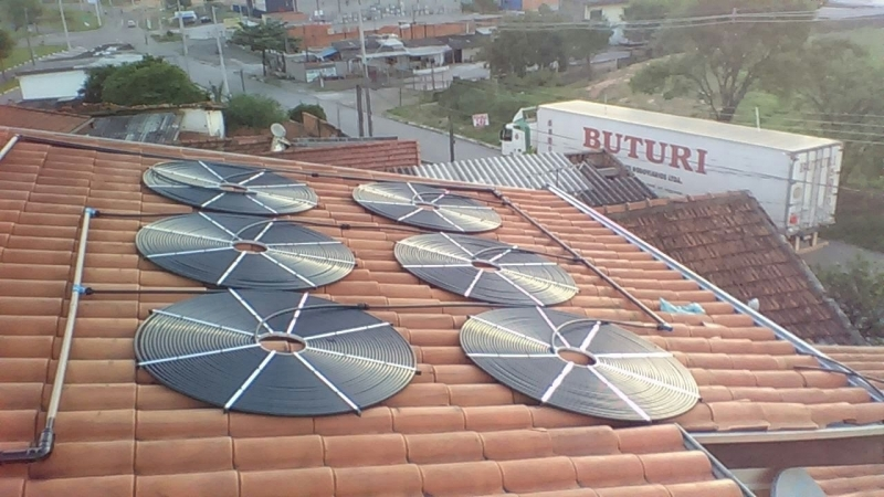 Sistema de Aquecimento Solar para Piscina Preço Suzano - Aquecimento Solar para Piscina de Fibra