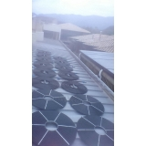 aquecimento com placa solar para piscina de fibra Parque Colonial