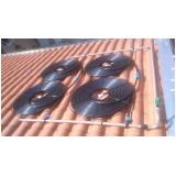 aquecimento solar para piscina residencial Santa Cecília