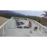 aquecimento solar para piscina Vila Romana