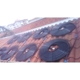 aquecimento solar residencial para piscina preço Taboão da Serra