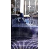construção de piscina azulejo Itaim Bibi