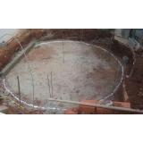 construção de piscina de vinil preço Bauru
