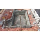 construção de piscina Sacomã