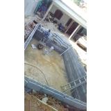 construção de piscina fibra
