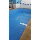 construção de piscina para academias