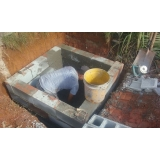 construção de piscinas de vinil Jardim Guedala