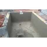 empresa de construção piscina revestida vinil Parelheiros