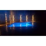 iluminação de led para piscina preço Jardim São Luiz