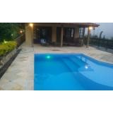 iluminação de led para piscina Jardim Helian