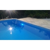 iluminação em led para piscina Penha