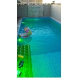 iluminação para piscina led Jardim Bonfiglioli