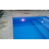 iluminação para piscinas de alvenaria Parque Colonial