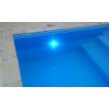iluminação para piscinas leds Jaguaré