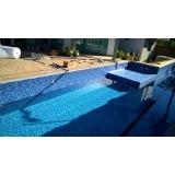 instalação de piso vinilico em piscina Atibaia