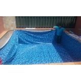 instalar vinil na piscina