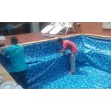 instalar vinil na piscina preço Aeroporto