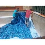 instalar vinil na piscina Bixiga