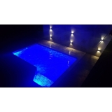 led para piscina Parque Colonial