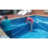 onde encontro instalação de vinil 0.8 mm para piscina Água Branca