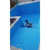 onde encontro instalação de vinil piscina Santos