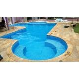 piscina aquecida de alvenaria São Gonçalo