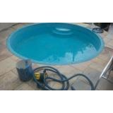 piscina aquecida de fibra Glicério