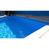 piscina aquecida vinil preço Marília